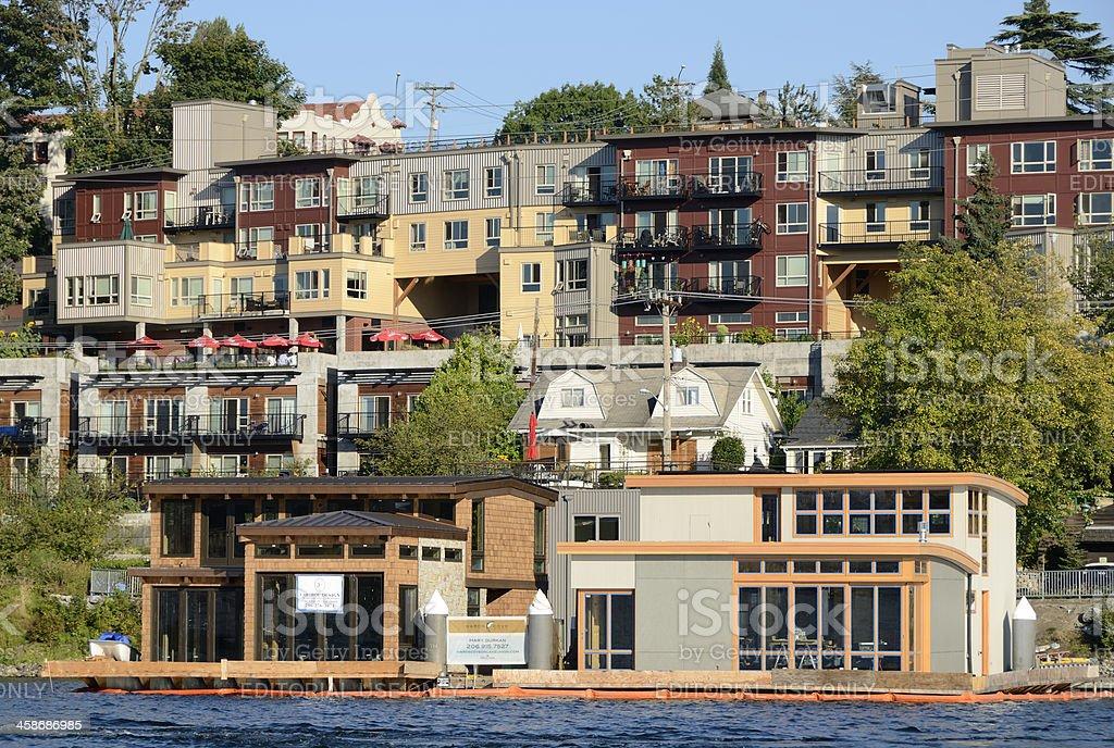 Lake Union, Seattle stock photo