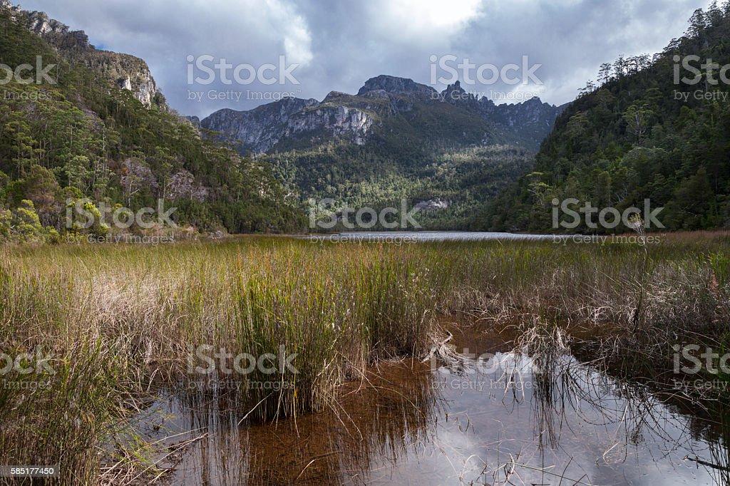 Lake Vera stock photo