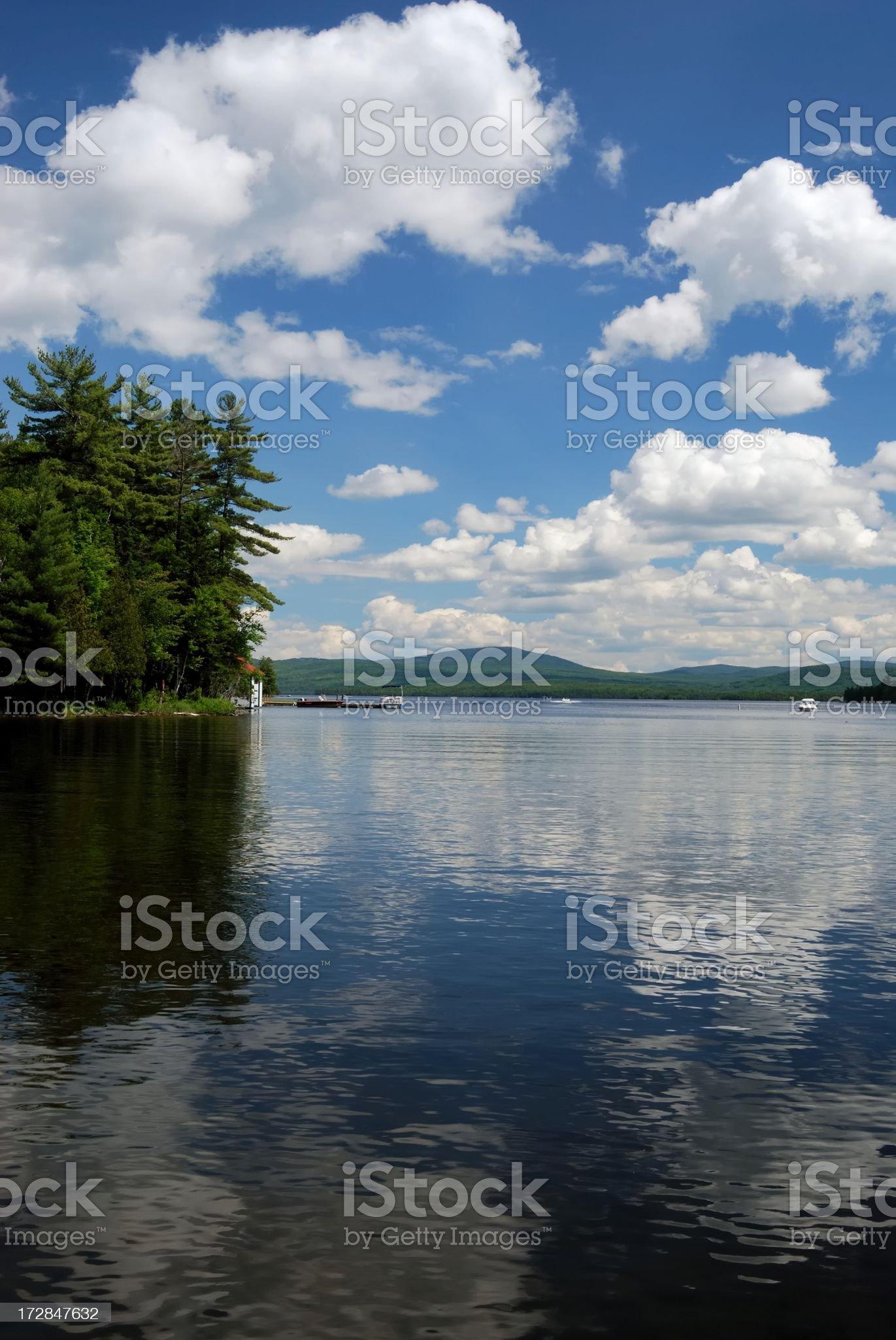 lake vertical royalty-free stock photo