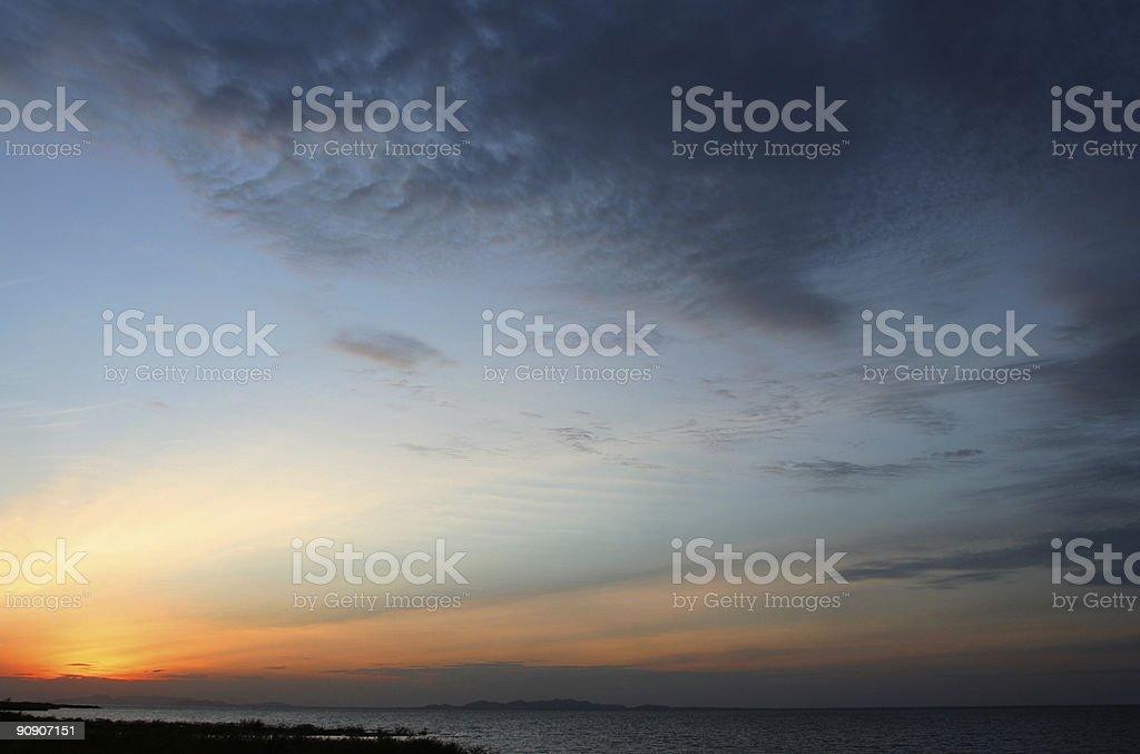 Lake Victoria Sunset royalty-free stock photo