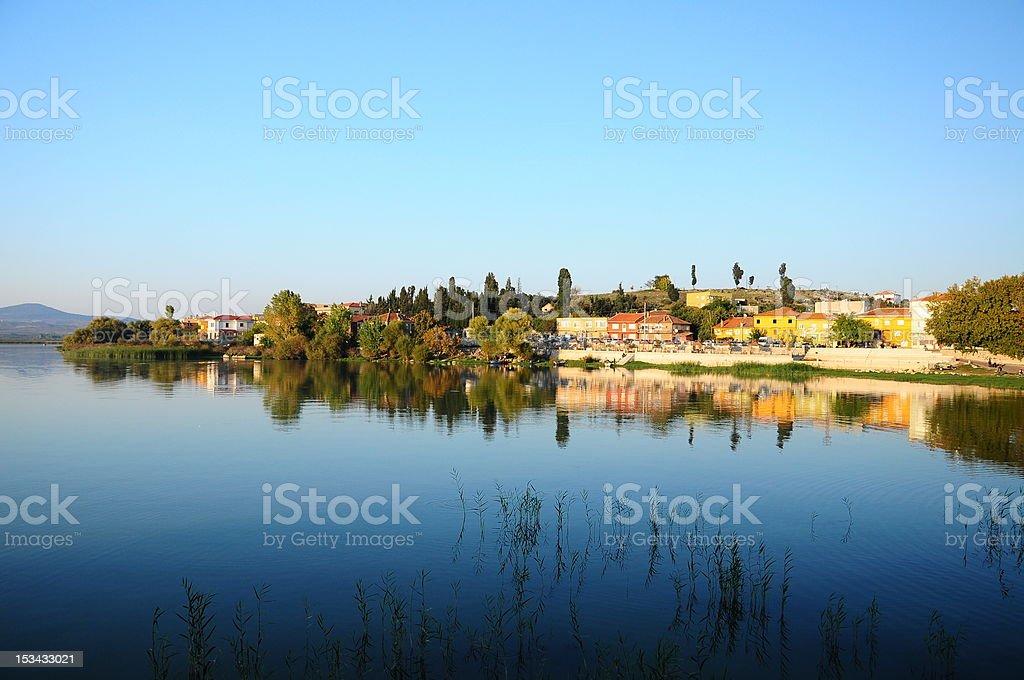 lake view royalty-free stock photo