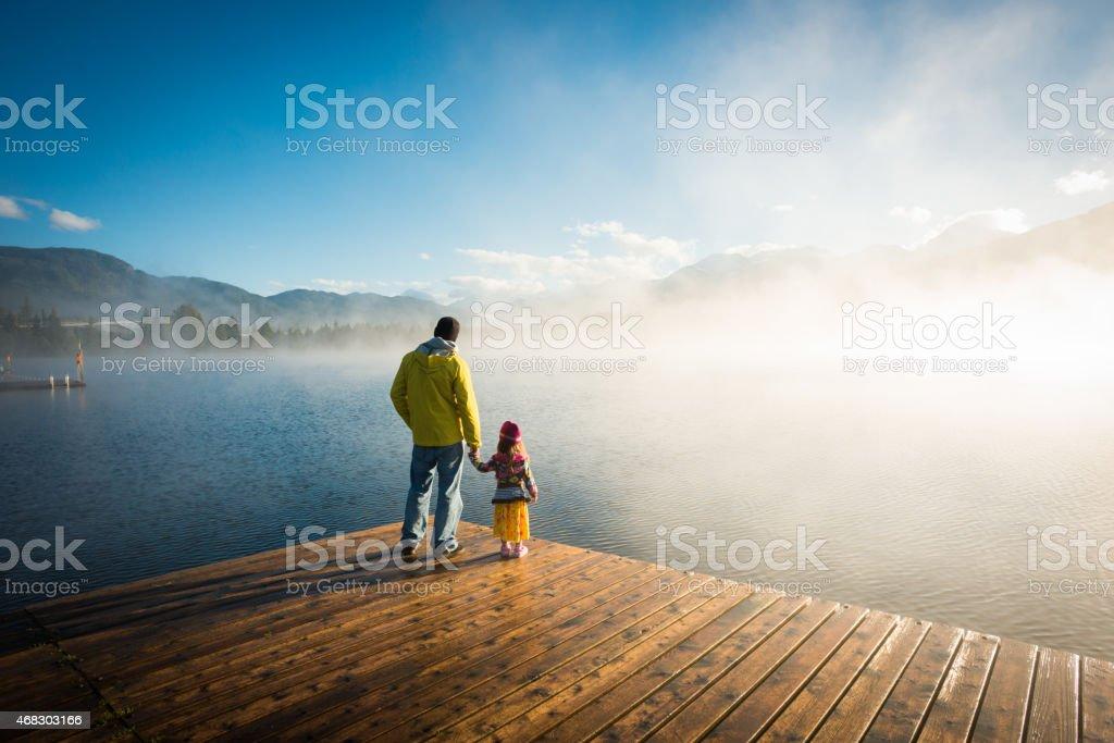 Lake View stock photo