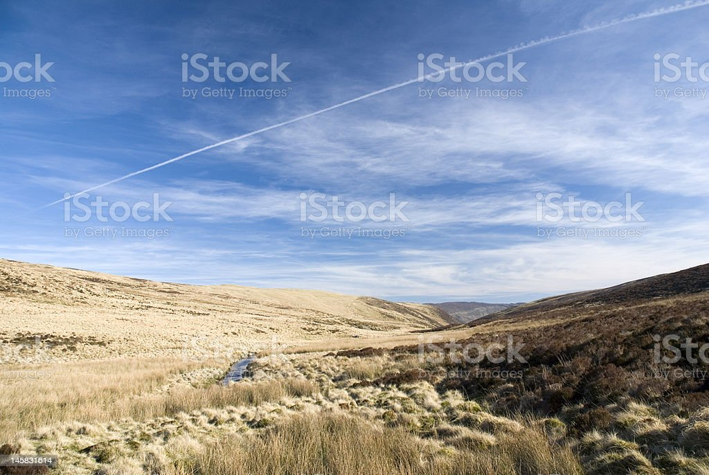 Lake Vyrnwy Nature Reserve. Wales royalty-free stock photo