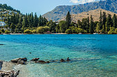 Lake Wakatipu and The Remarkables, Queenstown, New Zealand