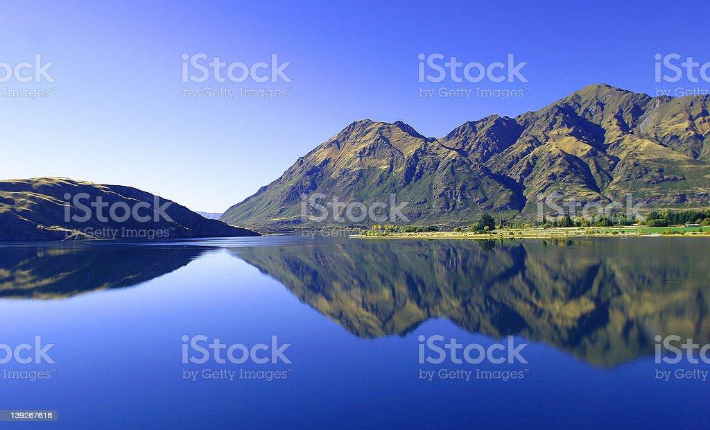 Lake Wanaka 1 royalty-free stock photo