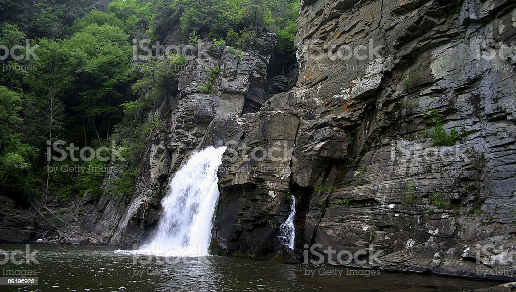 Lake Waterfall royalty-free stock photo