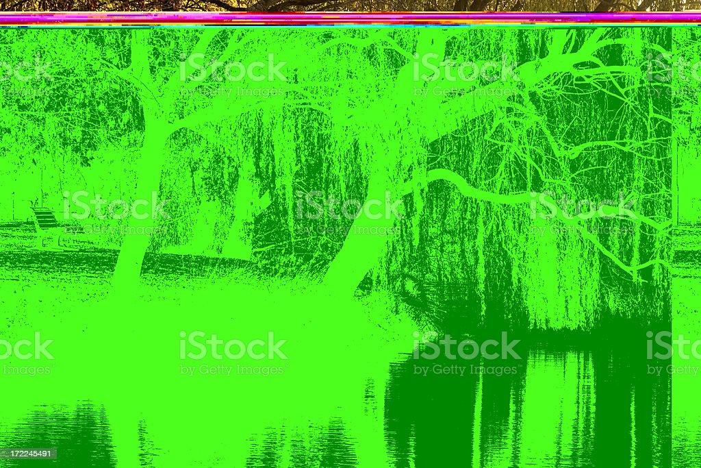 Lake Weeroona Reflection stock photo
