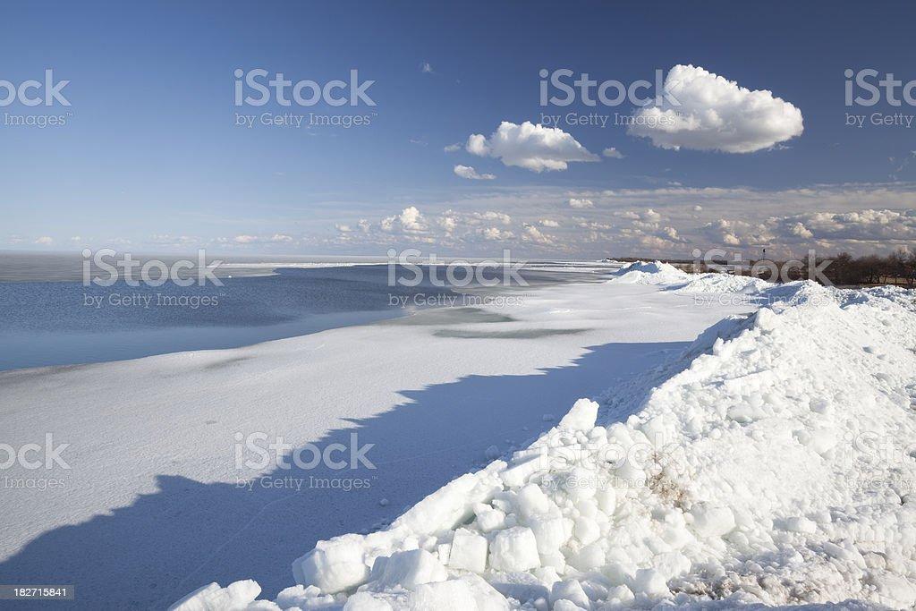 Lake Winnipeg Manitoba royalty-free stock photo