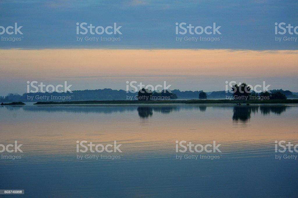 lake Wonieść stock photo
