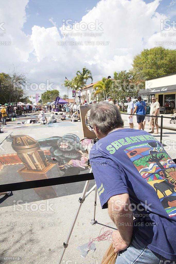 Lake Worth Street Painting Festival  RM stock photo