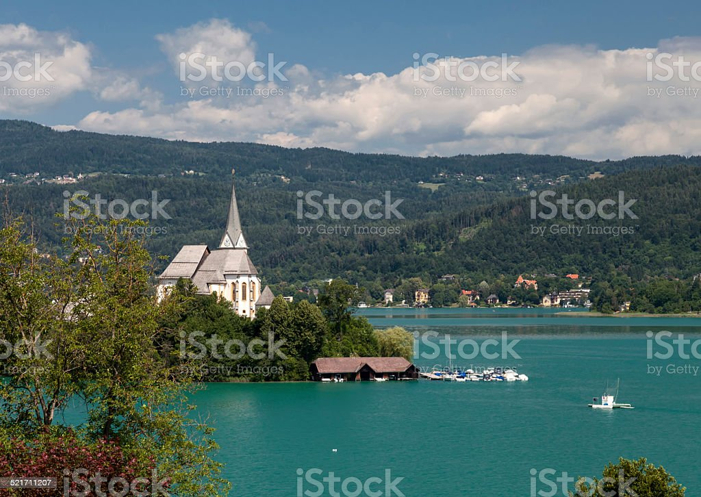 W?rthersee stock photo