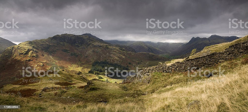 Lakeland Panorama royalty-free stock photo