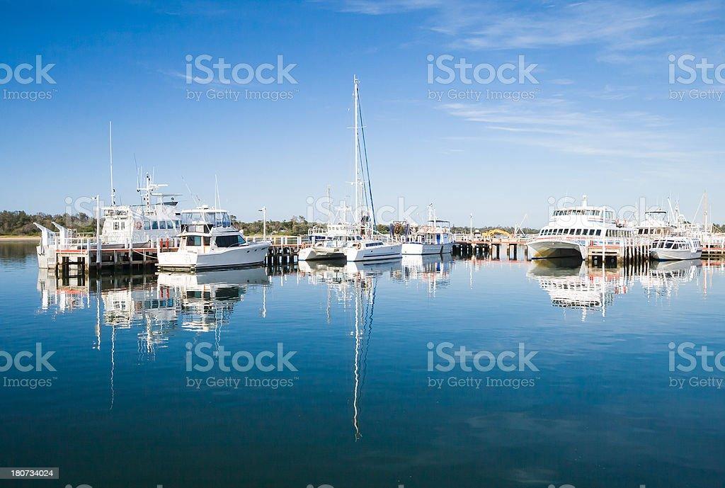 Lakes Entrance royalty-free stock photo