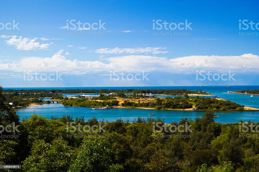 Lakes Entrance stock photo