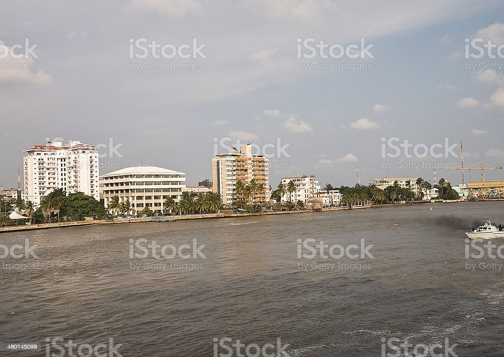 lagos stock photo