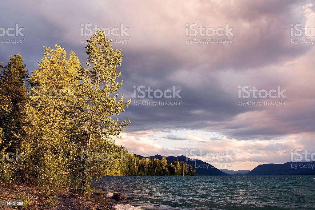 Lakes stock photo