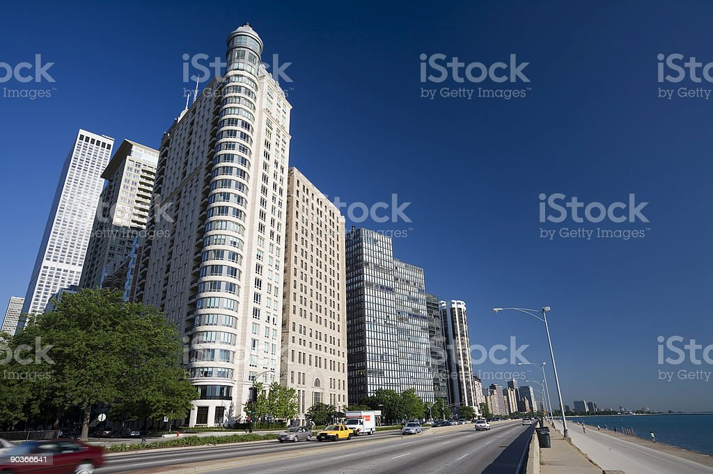 Lakeshore Apartments, Chicago royalty-free stock photo