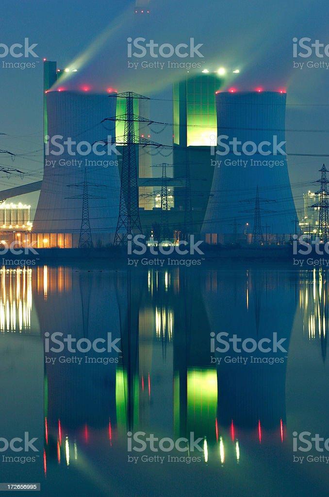 Lakeshore Power Plant royalty-free stock photo
