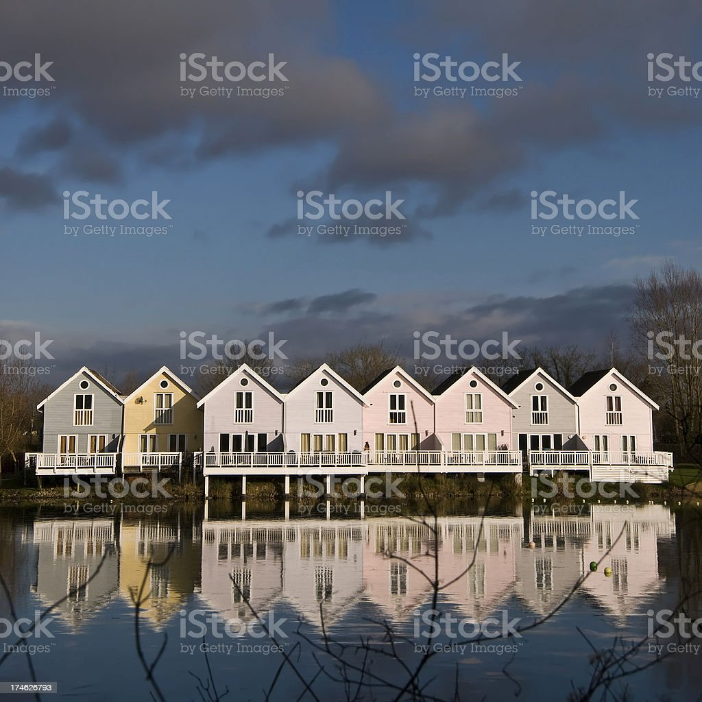 Lakeside Living royalty-free stock photo