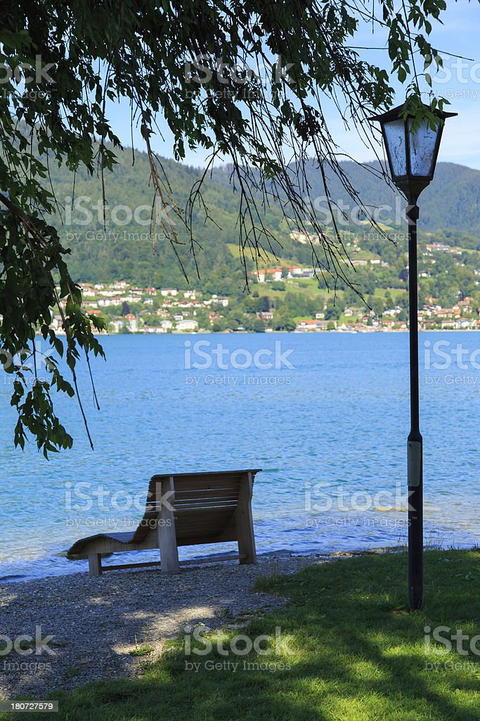 lakeside royalty-free stock photo