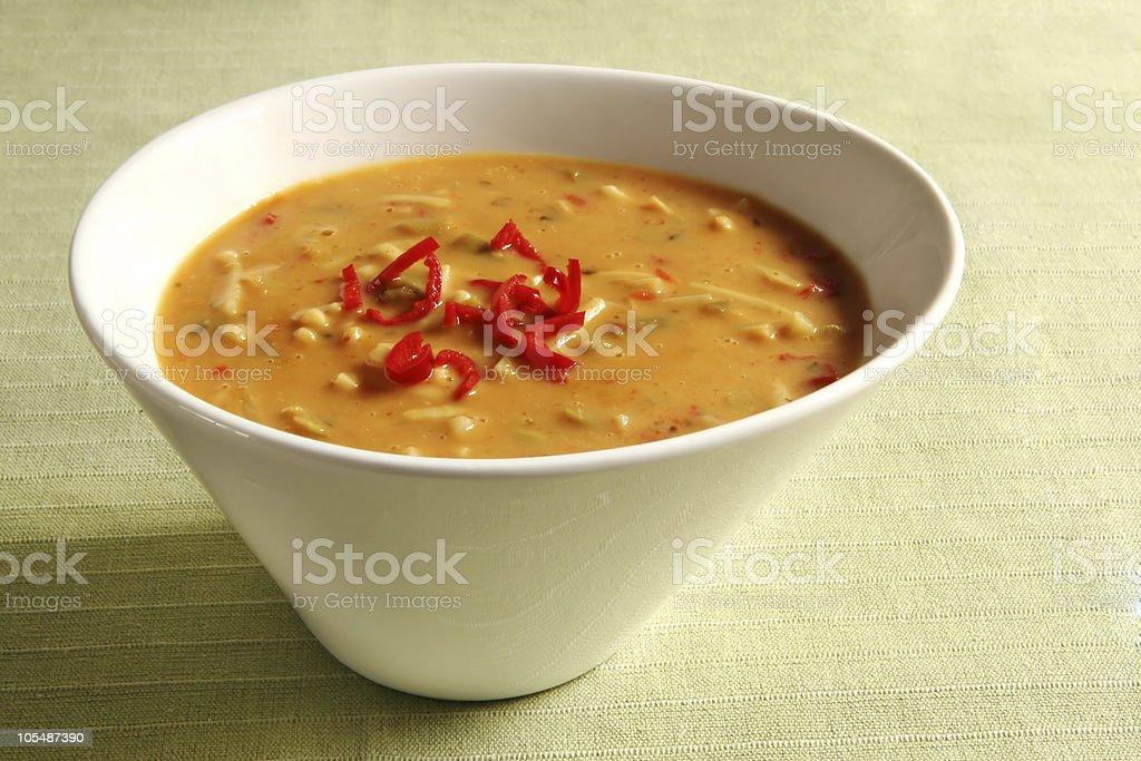 Laksa Soup royalty-free stock photo