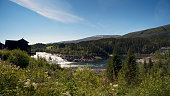 Laksforsen waterfall, Nordland, Norway