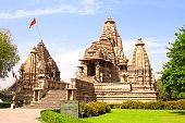 Lakshmana temple in Khajuraho, Madhya Pradesh, India