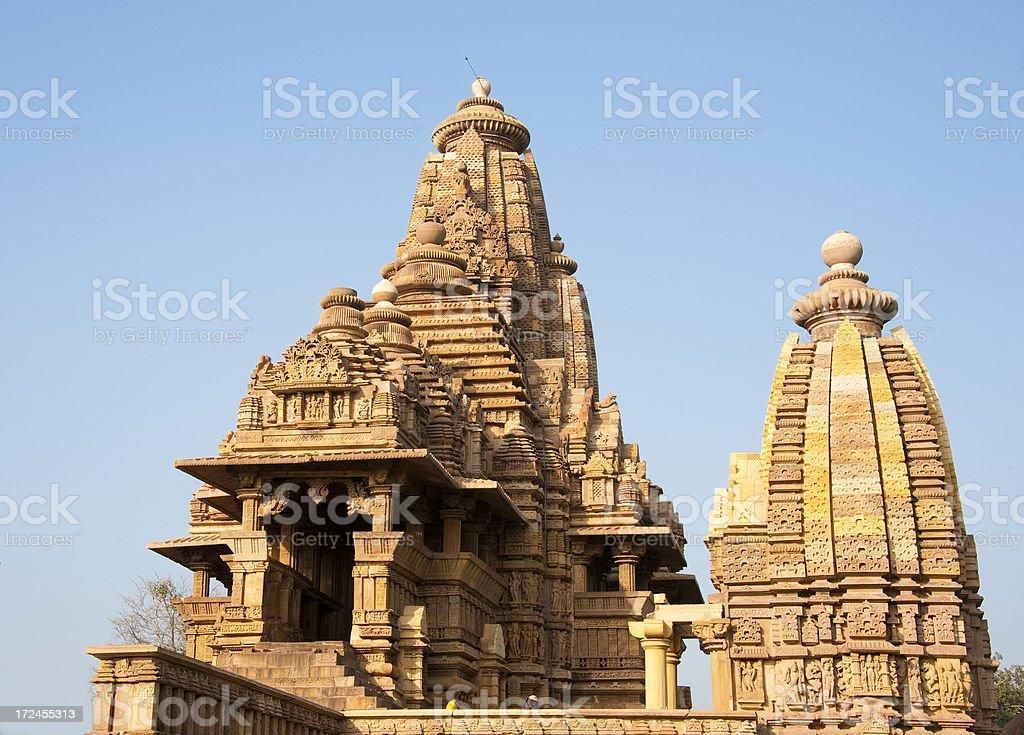 Lakshmana temple, Khahuraho. stock photo