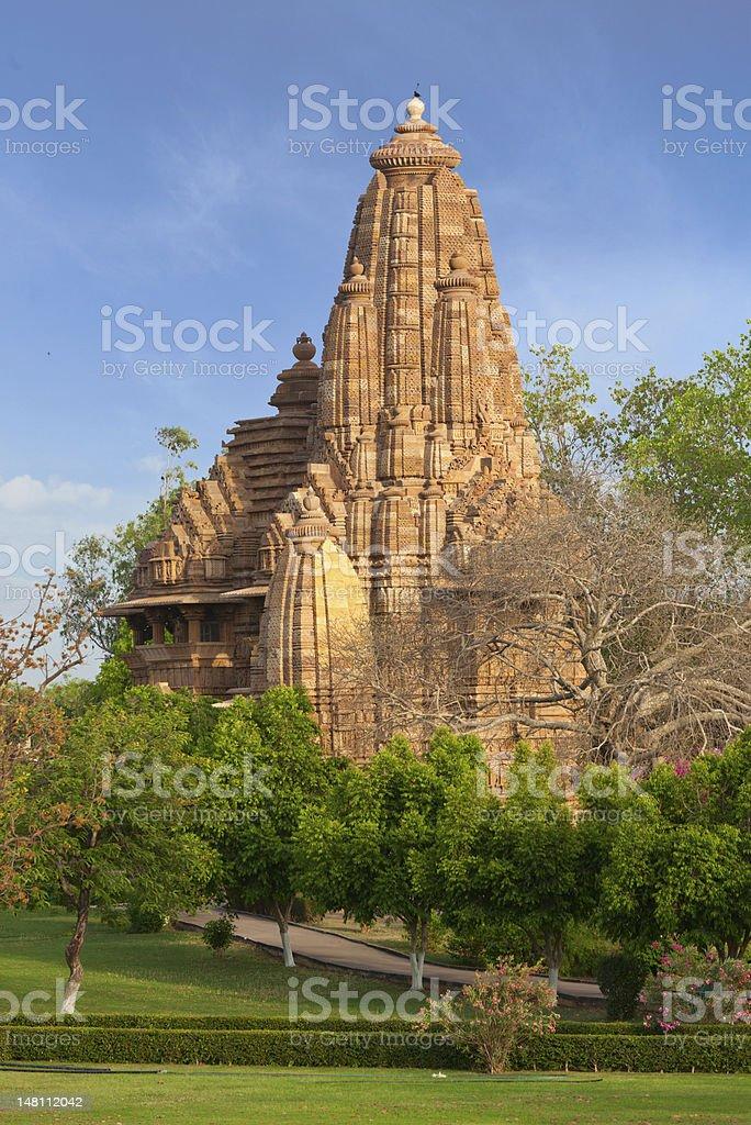 Lakshmana  temple, Khajuraho stock photo
