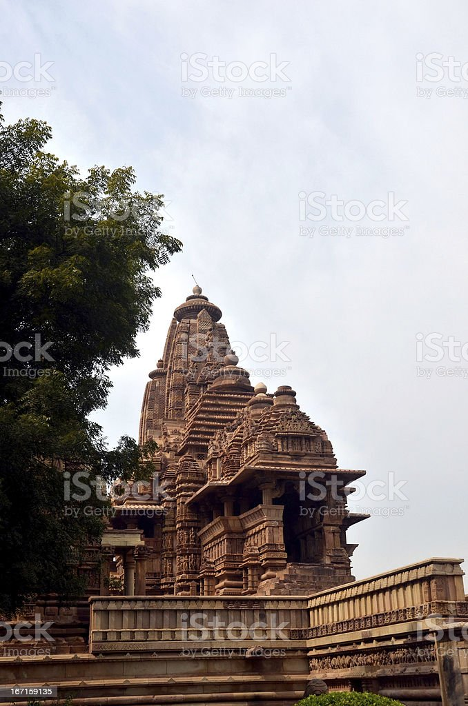 Lakshmana Temple stock photo