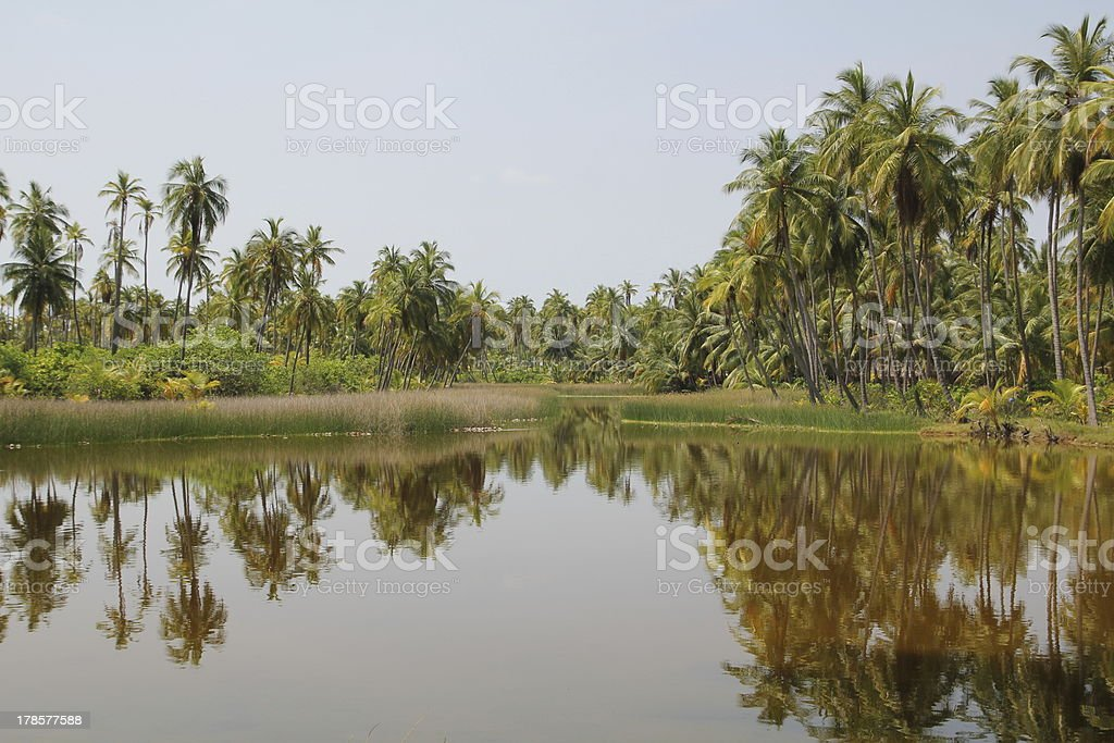 Lakshwadeep Island royalty-free stock photo