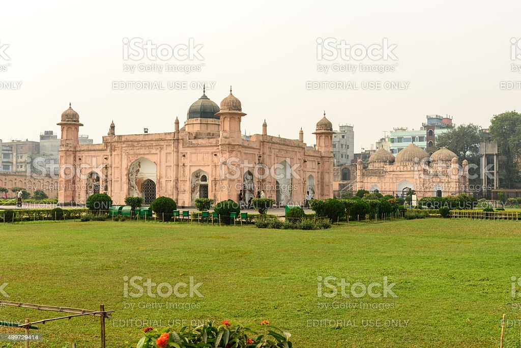 Lalbagh fort stock photo