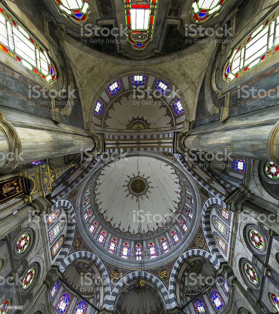 Laleli Mosque royalty-free stock photo