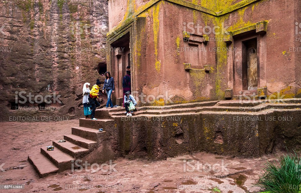 Lalibela, Ethiopia stock photo