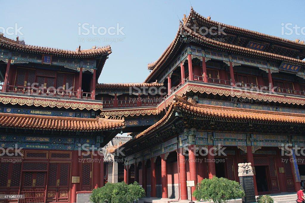Lama Temple stock photo