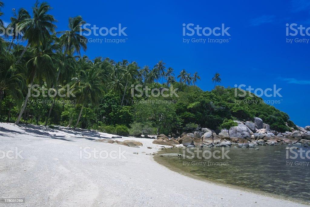 lamai beach ko samui thailand royalty-free stock photo