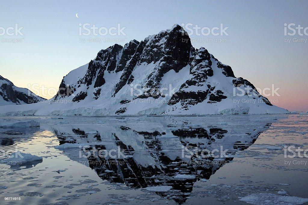 Lamaire Strait, Antarctica royalty-free stock photo