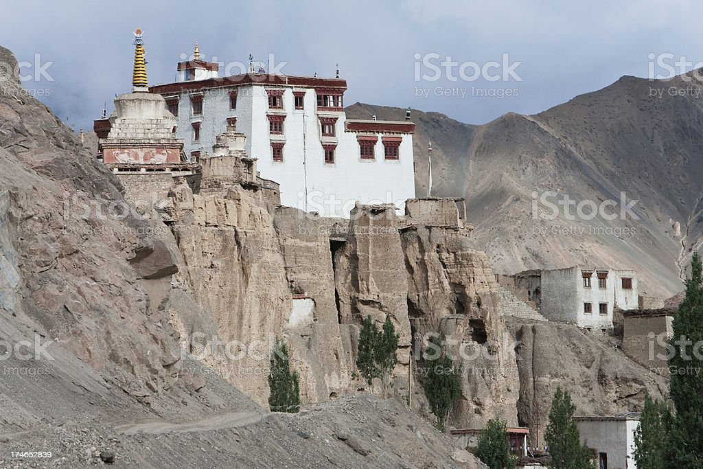 Lamayuru Gompa royalty-free stock photo