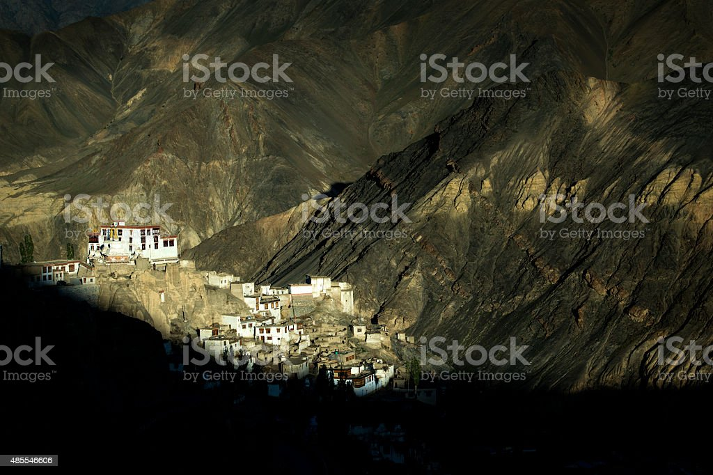 Lamayuru Monastery in Ladakh, Northern India stock photo