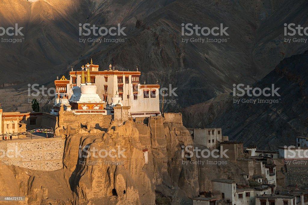 Lamayuru or Yuru Gompa, Kargil District, Western Ladakh, India stock photo