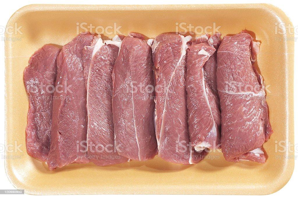 lamb beefsteak royalty-free stock photo