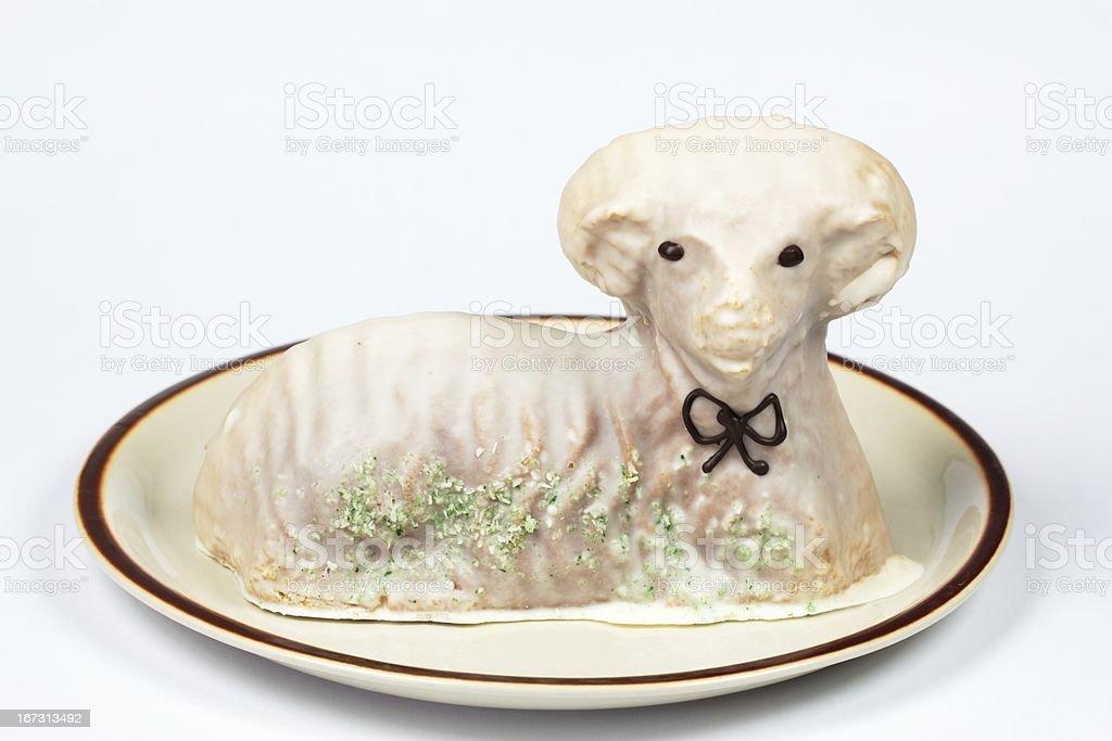 Lamb cake royalty-free stock photo