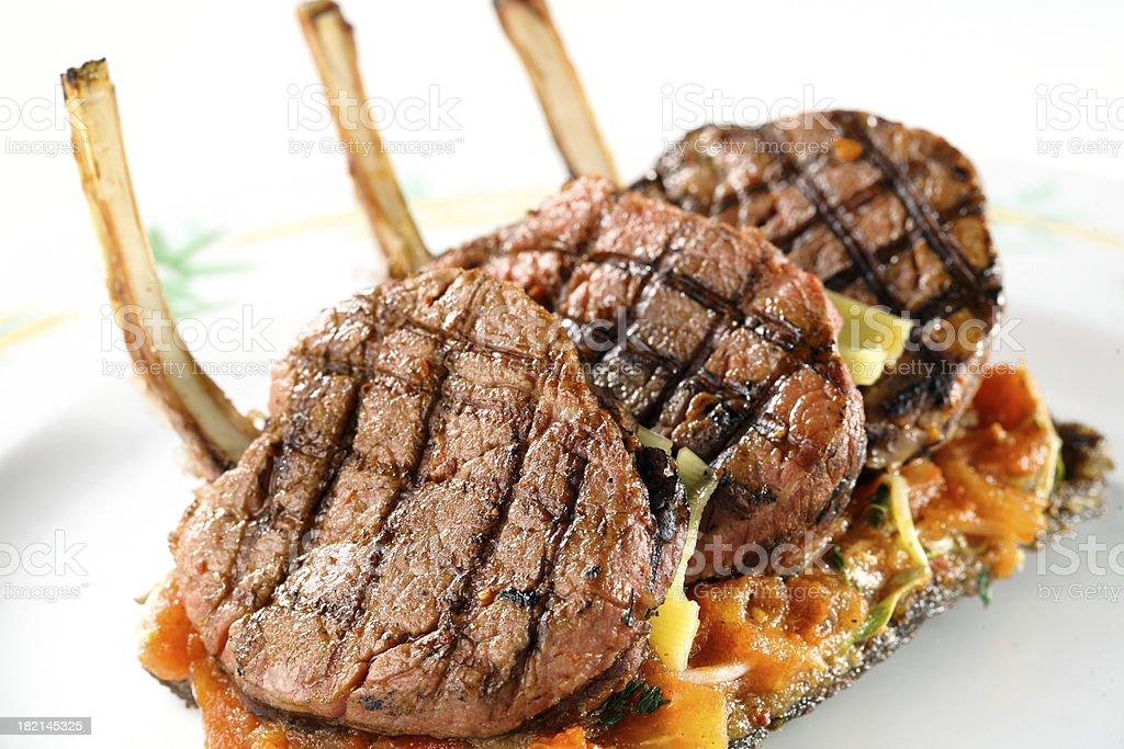 Lamb Chop royalty-free stock photo