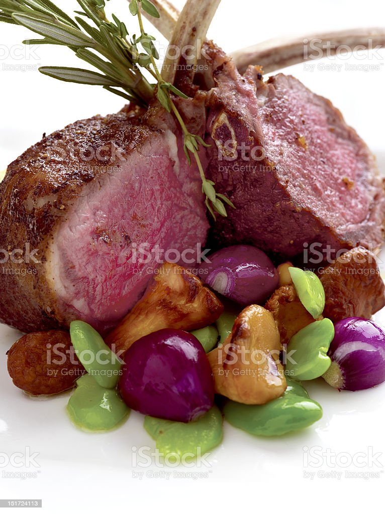 Lamb Chops royalty-free stock photo
