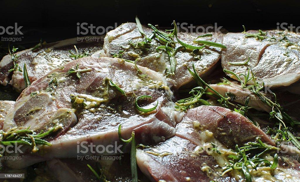 Lamb Chops. royalty-free stock photo
