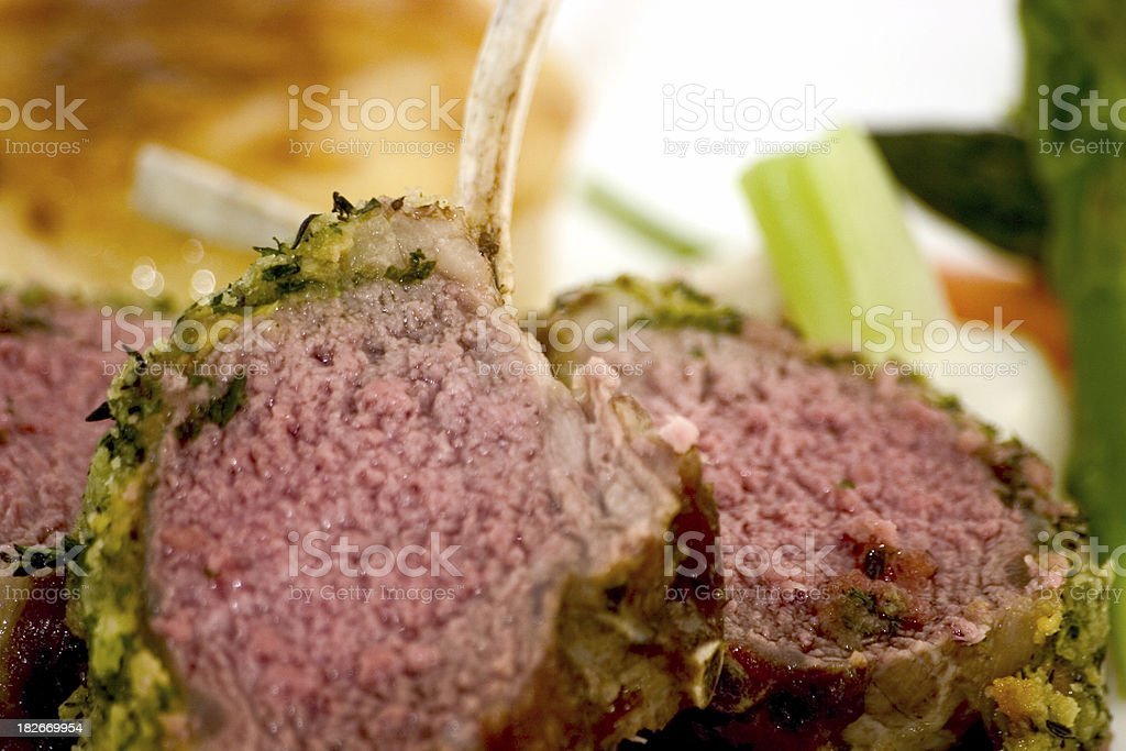 lamb chops2 royalty-free stock photo