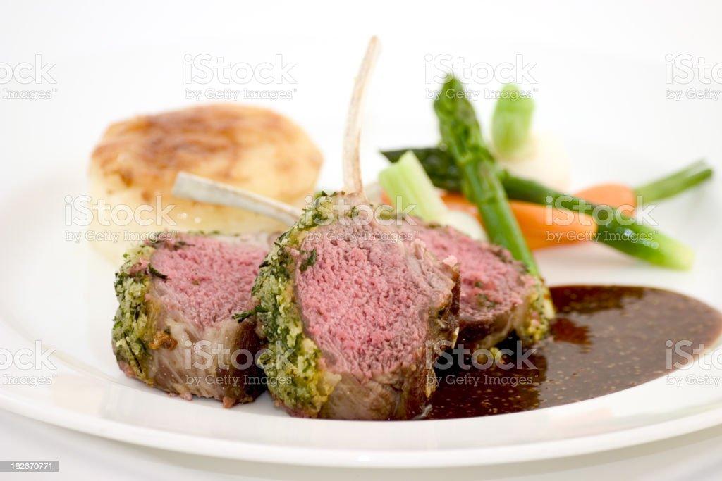 lamb chops6 royalty-free stock photo