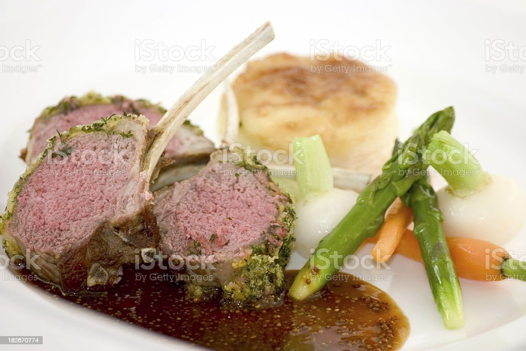 lamb chops7 royalty-free stock photo