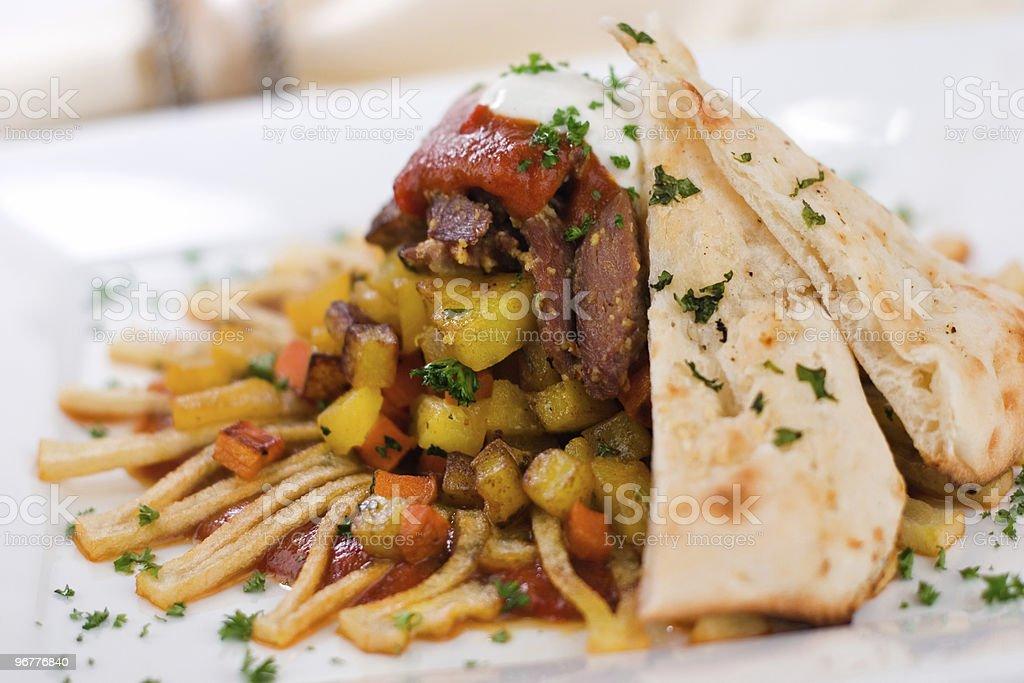 Lamb Curry Hash stock photo