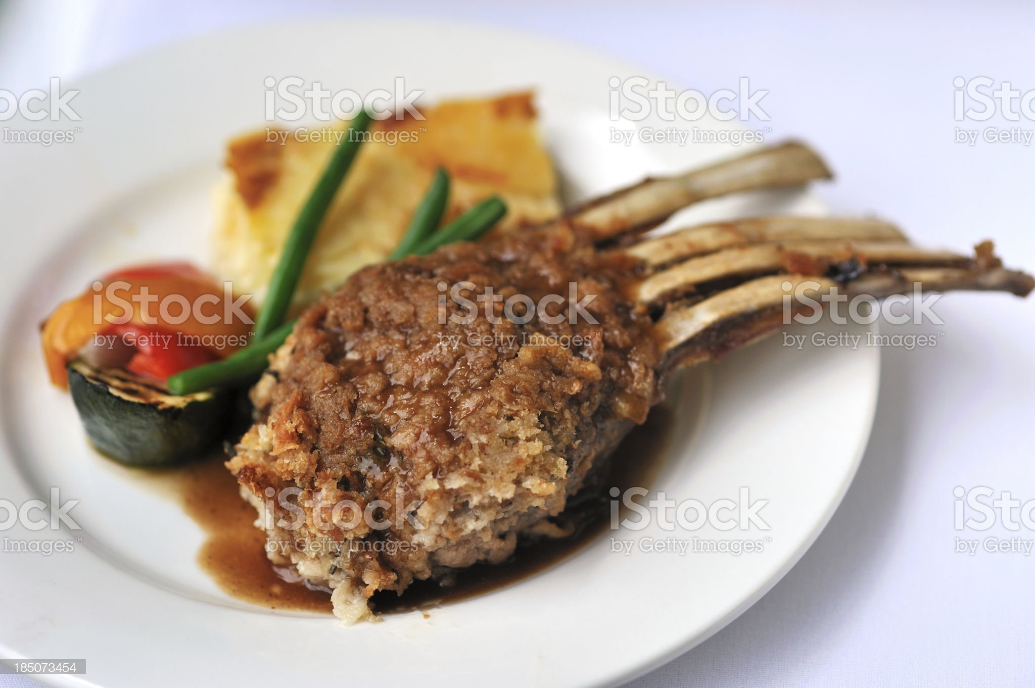 Lamb Cutlet, royalty-free stock photo